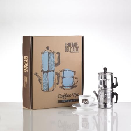 Coffee Kit blue - coffee kit azzurro