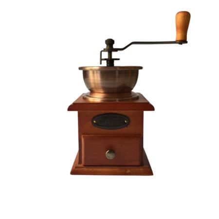 Macina caffè in legno - Coffee grinder in beech wood