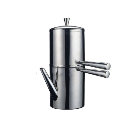 ILSA NEAPOLITAN COFFEE MAKER WITH STAINLESS STEEL BEAK - CAFFETTIERA NAPOLETANA CON BECCO IN ACCIAIO INOX